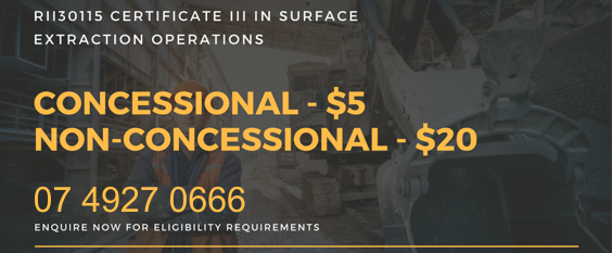 Certificate 3 Guarantee - Surface Extraction operations